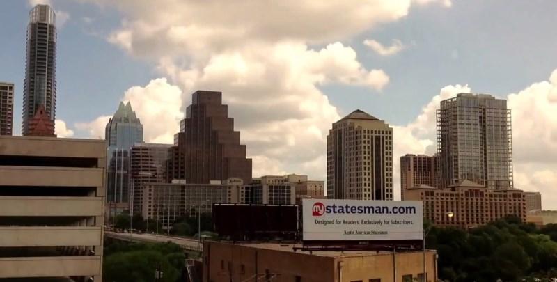Downtown Austin Texas time lapse HD screenshot
