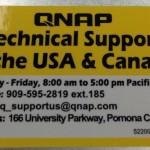 QNAP TS-1270U-RP Label