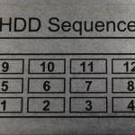 QNAP TS-1270U-RP Hard Drive Sequence
