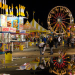 Carnival at Night - San Angelo Rodeo