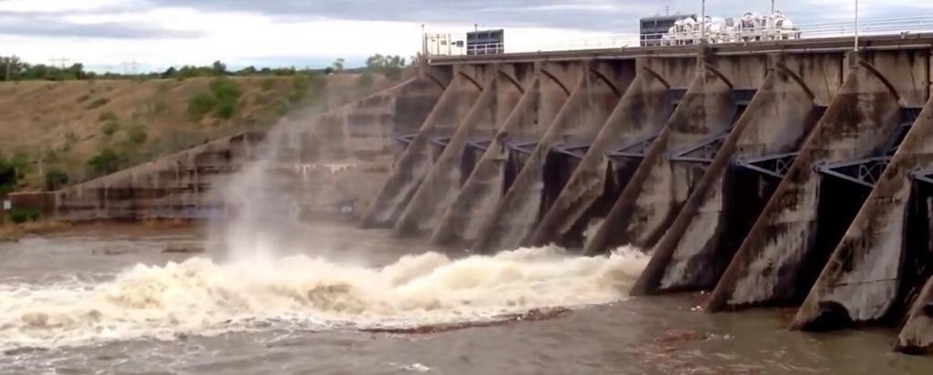 Lake Nasworthy Dam