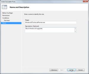 AppLocker - Create Executable Rules