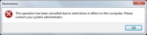 Executable Restrictions using AppLocker