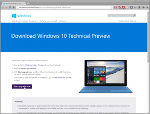 -Download Windows 10 Technical Preview - Microsoft Windows
