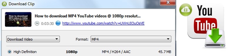How to download MP4 YouTube videos @ 4K 2160p 1080p resolution