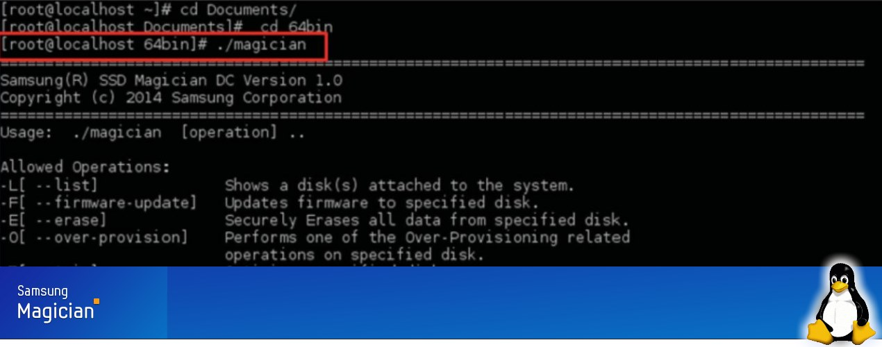 Samsung releases magician command line tool for linux