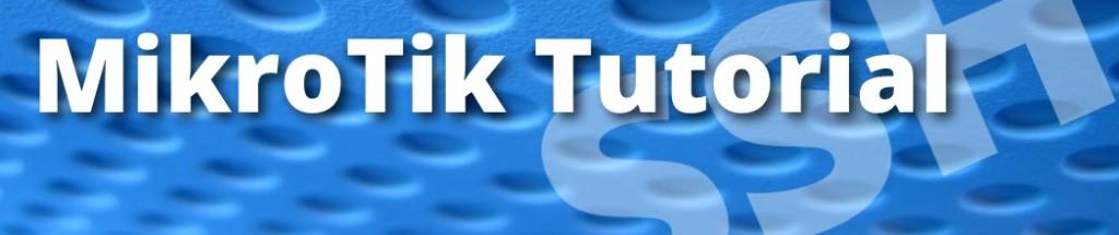 mikrotik tutorial ssh