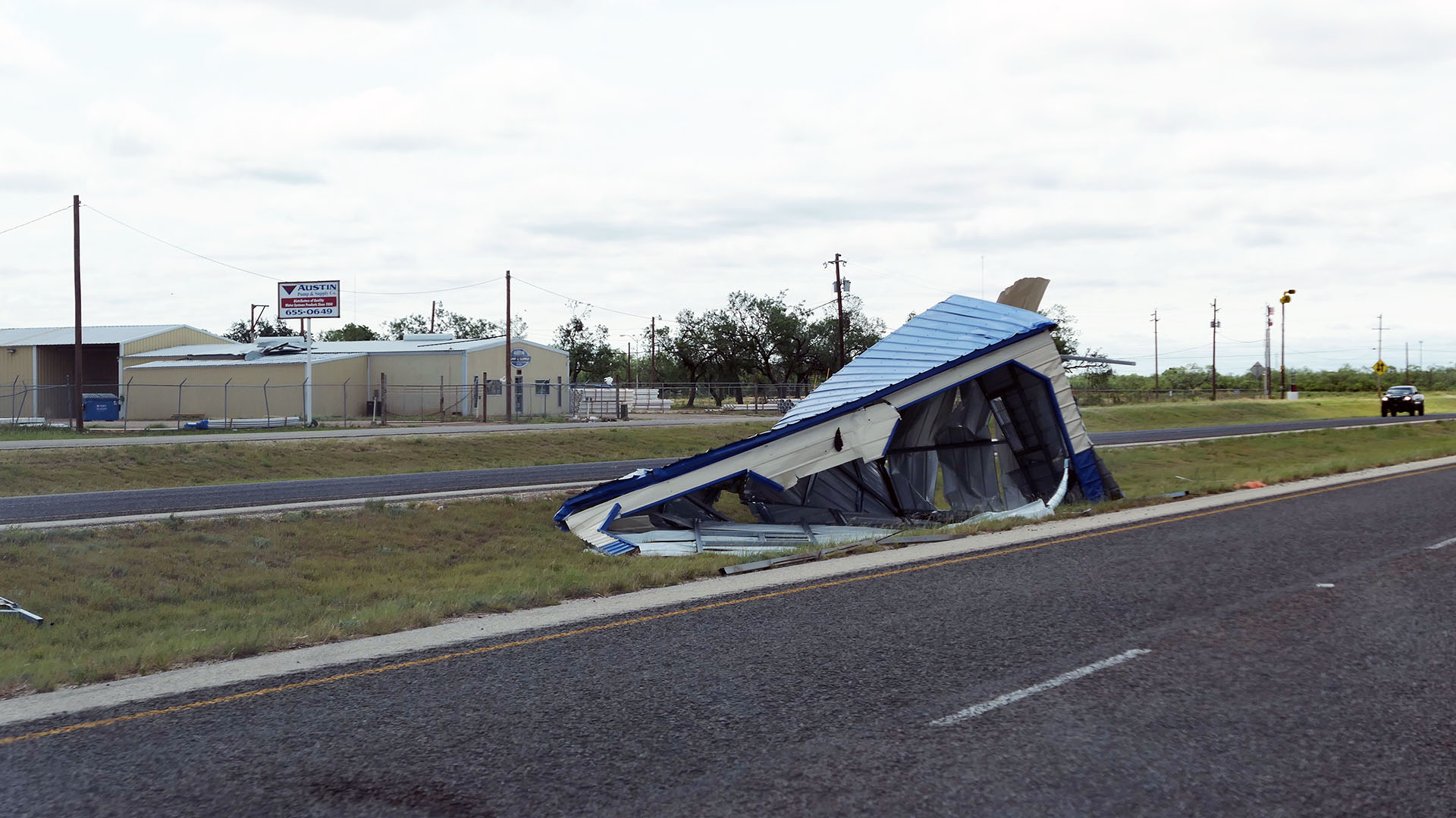 Photos of June 23rd 2017 Storm Damage - San Angelo, TX