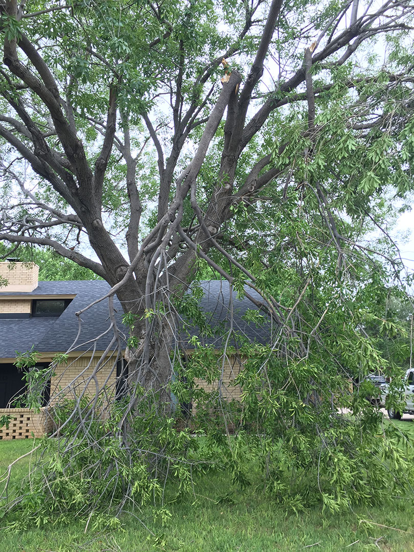 Photos Of June 23rd 2017 Storm Damage San Angelo Tx