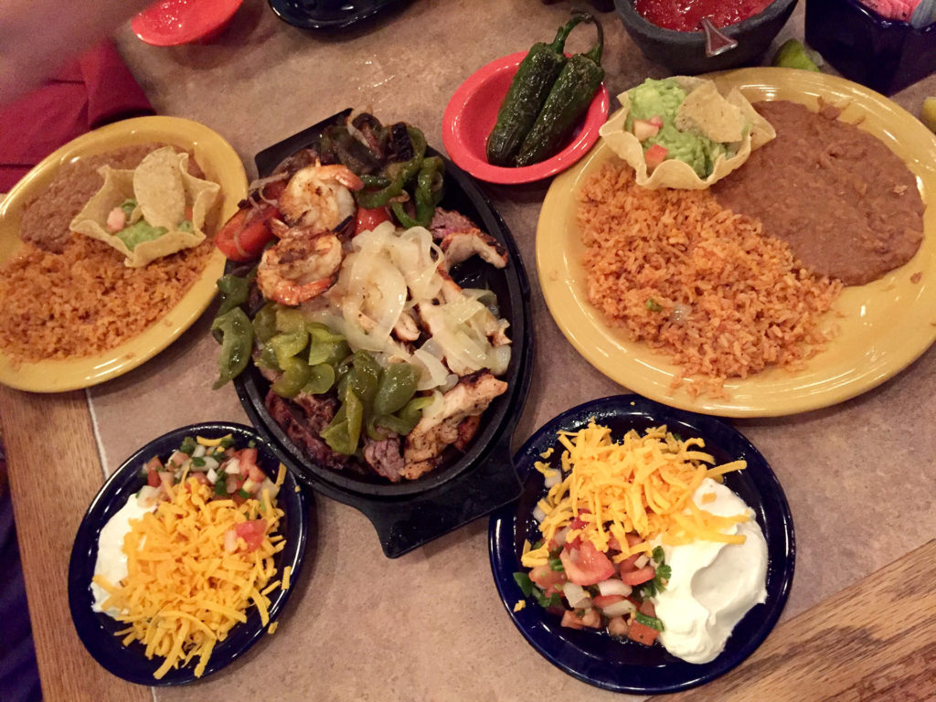 Mixed Fajitas for Two