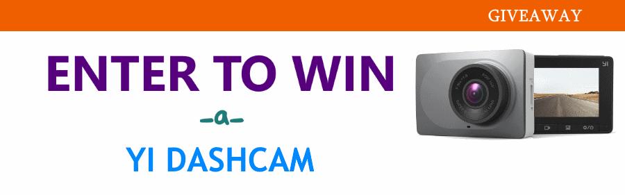 YI Dashcam Giveaway
