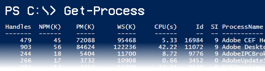 PowerShell: Process Wrangling with Get-Process - jcutrer com