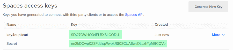 digitalocean-spaces-key-secret