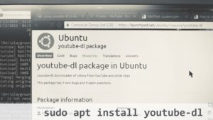 install youtube-dl ubuntu-linux