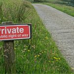 private road sign photo by aitoff