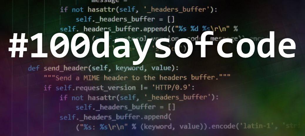 #100daysofcode python