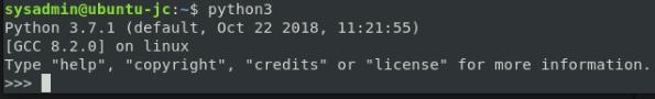 python 3.7 REPL
