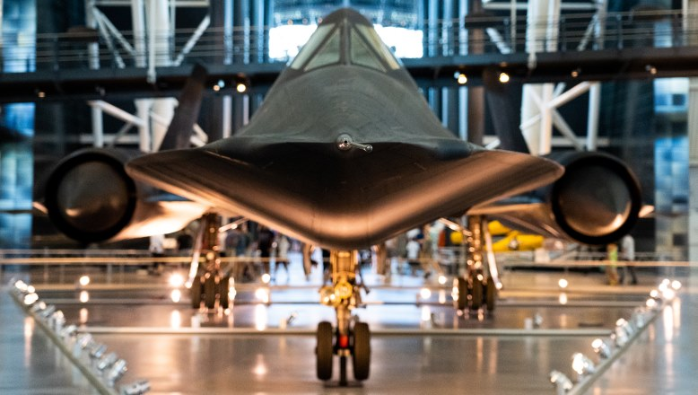 Photo of SR-71 Aircraft
