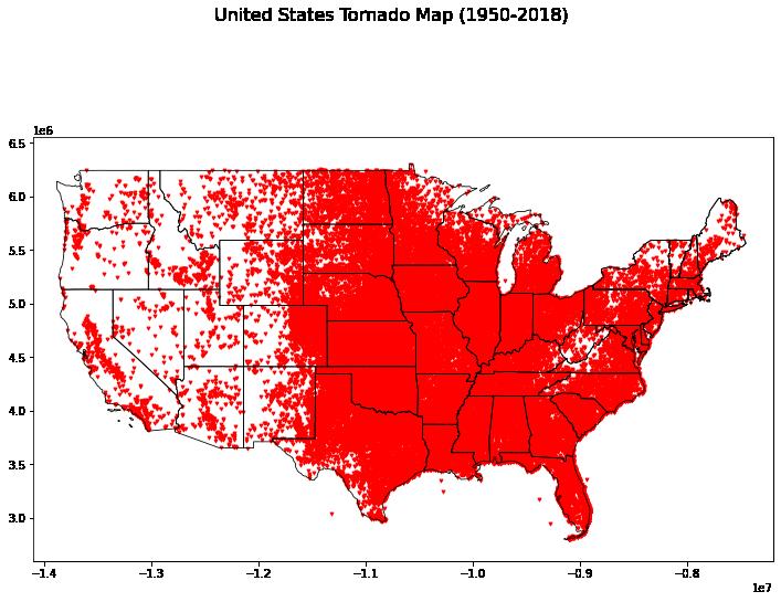 US Tornados Plot